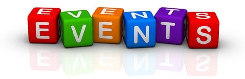 events management page