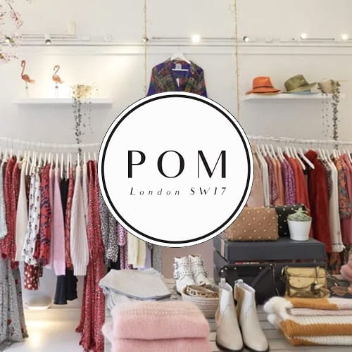 POM London website designer