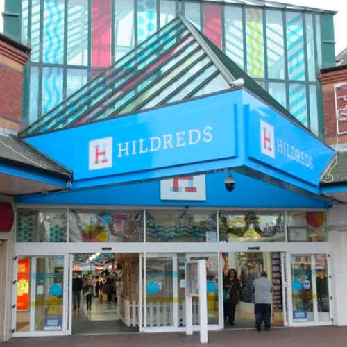 hildreds shopping centre skegness